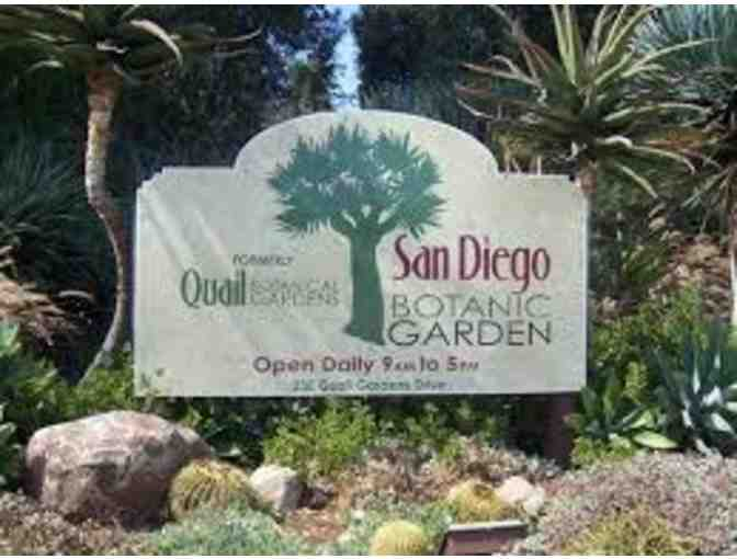 TWO GUEST PASSES FOR SAN DIEGO BOTANIC GARDEN
