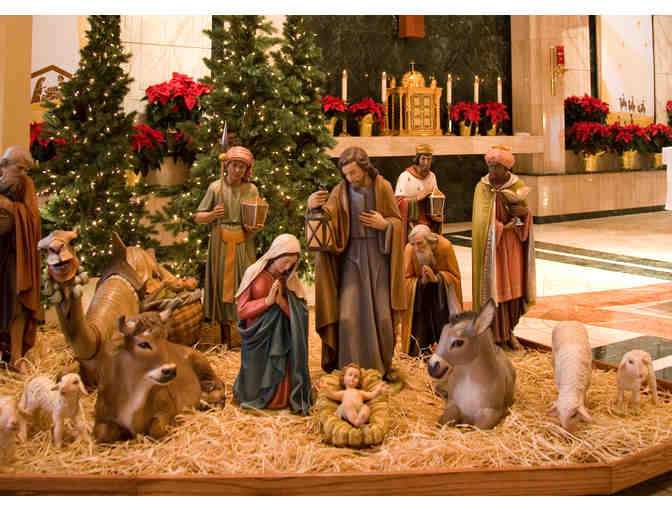 SLM CHRISTMAS EVE 4PM MASS PEW-JOSEPH SIDE WITH PARKING- HAVE A RELAXING XMAS MASS