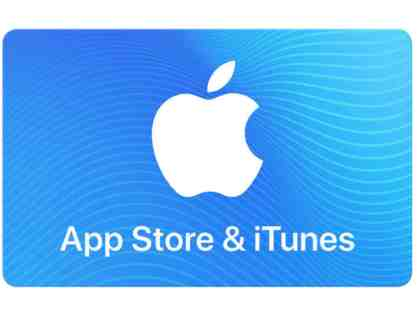 $25 APPLE STORE'S ITUNES GIFT CARD