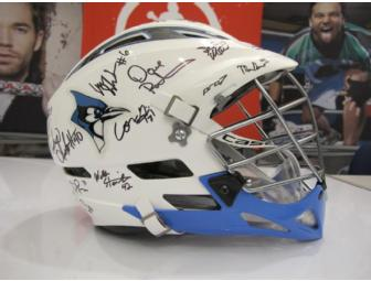 Johns Hopkins  - 2012 Men's Autographed Lacrosse Helmet