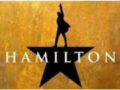 2 PREMIUM HAMILTON Tickets and  2 Night stay at The Chatwal New York City!