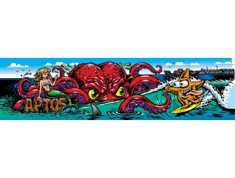 Skateboard Deck Designed by Jimbo Phillips