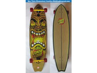 Santa Cruz Skateboards Big Wave Tiki Shark