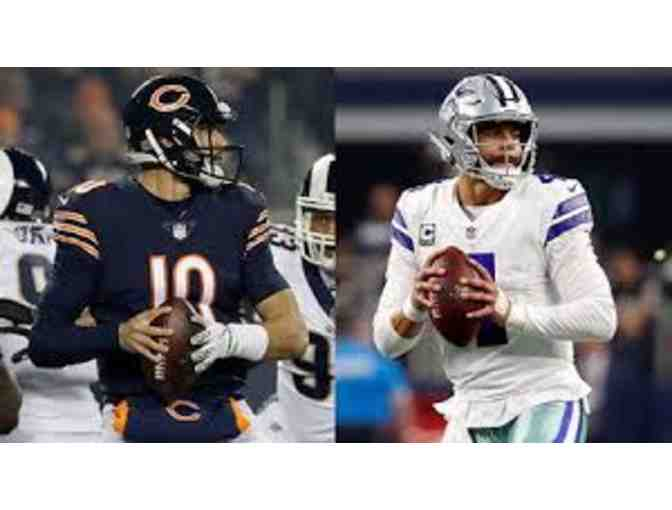 Chicago Bears versus Dallas Cowboys NFL Package