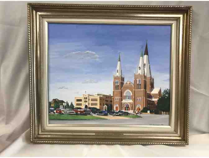 Original Painting of Holy Family Cathedral