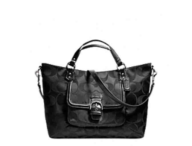 Fabulous Black Coach Handbag<span class=