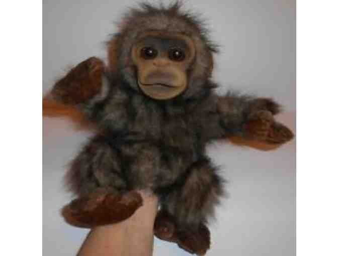 Animal Alley Monkey Puppet