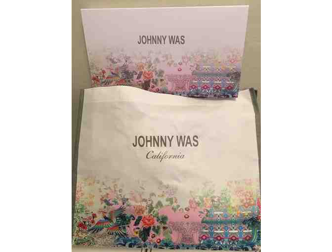 Johnny Was California $250 Gift Certificate & Scarf