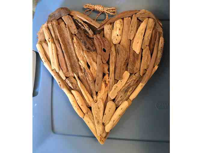 Driftwood Heart by Lily in Montecito