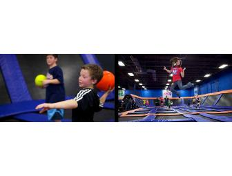 Sky Zone Sports - 5 One Hour Jump Passes - Photo 1