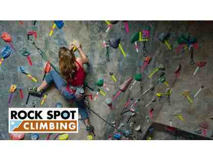 Rock Spot Climbing - Family 4-pack with Gear