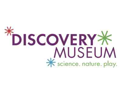 Discovery Museum - Admission for 4