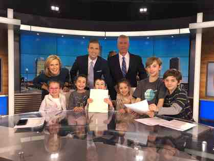 Behind-the-Scenes Tour at WBZ-TV Channel 4 News with MR Parent Aileen Pollard!