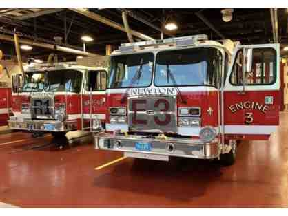 Newton Fire Department  - Station Tour for up to 15 Kids and Adults!