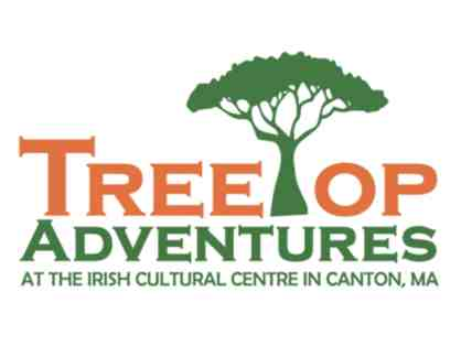 TreeTop Adventures Zip-Line and Climbing Park in Canton - 2 Tickets