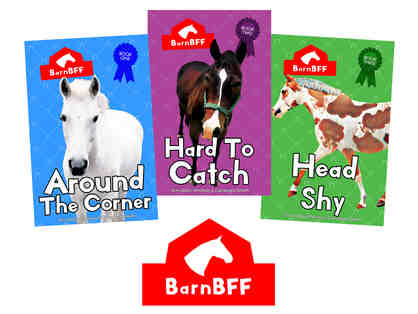 Youth Book Series by Local Author and Mason-Rice Parent Kim Whitney - PLUS a Toy Horse!