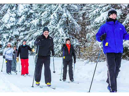 A Morning of Cross Country Skiing for 6 People with M-R Alums - The Brenner Family