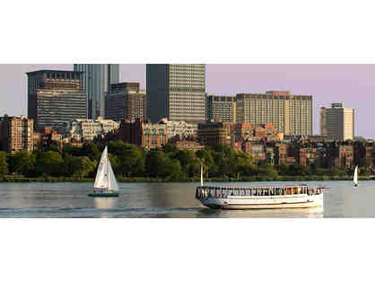 Charles River Sightseeing Boat Tour - 4 Passes!