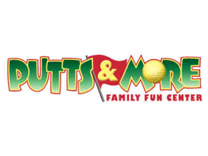 $30 Gift Certificate to Putts & More Family Fun Center (Holliston, MA)