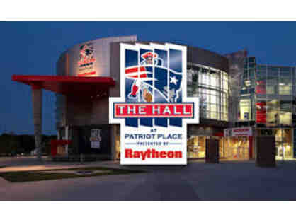 Four Adult Passes to The Patriots Hall of Fame at Patriot Place (Foxborough, MA)