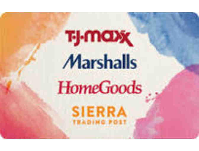 $50 Gift Card to T.J. Maxx, Marshalls, HomeGoods, Sierra Trading Post - Photo 1