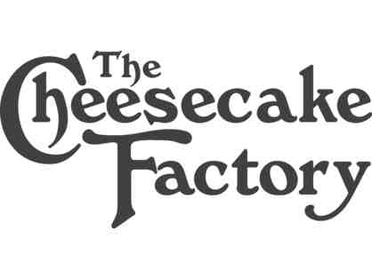 $100 Gift Card for The Cheesecake Factory