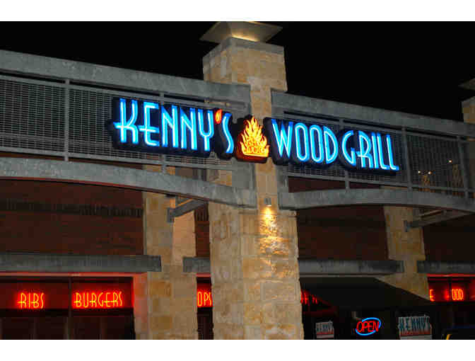 $75 Dining certificate for Kenny's Wood Fired Grill - Photo 1