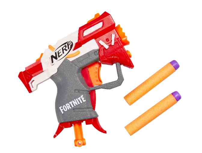 Fortnite TS Nerf MicroShots Toy Blaster and 2 Piece Pajama Set - Photo 2