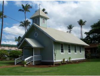 Wedding at Lahuiokalani Ka'anapali Congregational Church