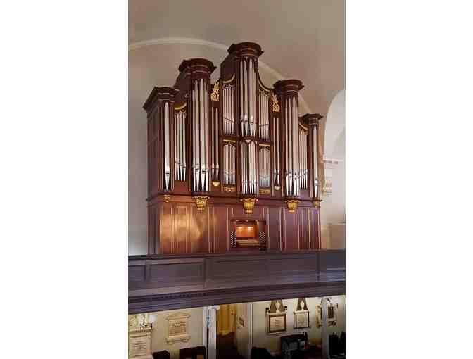 Tour of new pipe organ at St Paul's Chapel