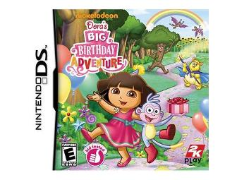 Dora's Big Birthday Adventure Nintendo DS Game
