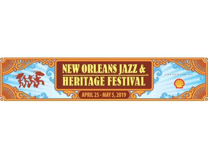 Jazz Fest Tickets!