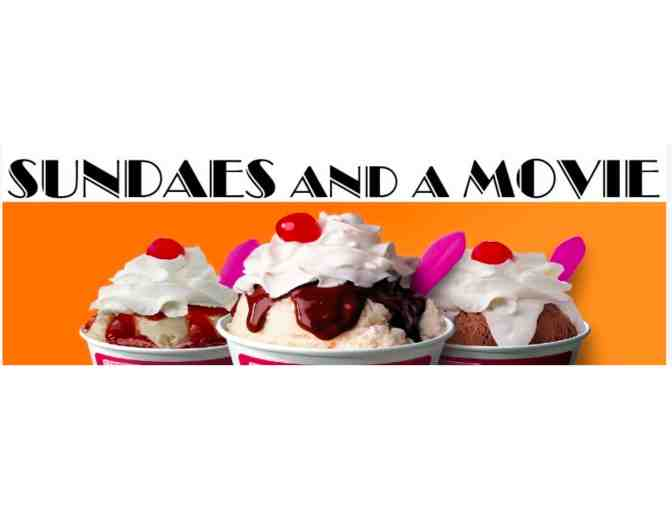 Movie and a Sundae with Fourth Grade Teachers