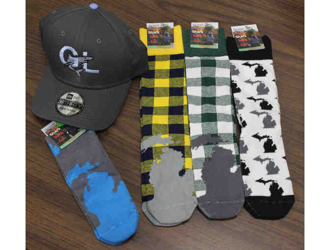 Variety of Michigan Socks and Hat - Photo 1