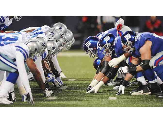 4 Club Seats to Giants vs. Cowboys: November 24th at 4:25 PM