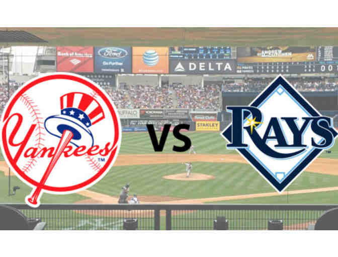 Yankees vs Rays: Sunday, July 30 at 1:05 p.m. (4 Premium Seats)