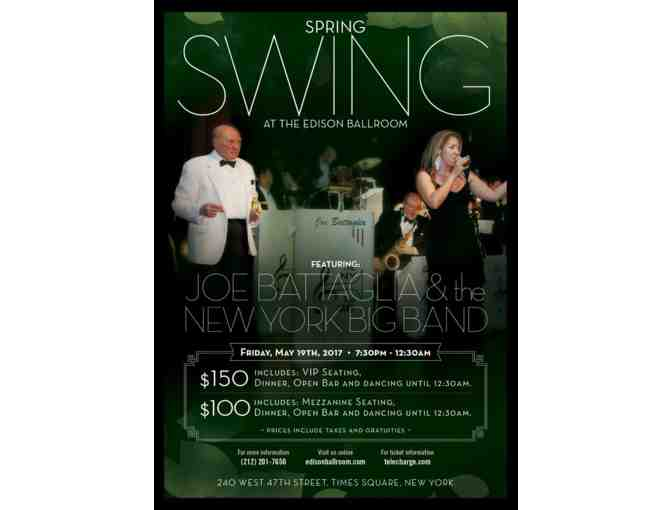 Big Night Out on the Town: 4 Tickets to Swing into Spring (Friday, May 19)