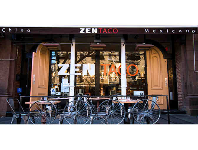 Zen Taco: Round of Drinks and Appetizers for 10