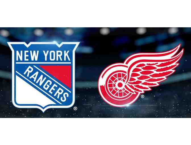New York Rangers vs. Detroit Red Wings: Tuesday, March 19, 2019