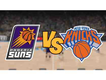 Knicks vs. Suns: Monday, December 17 at 7:30 pm (4 Premium Tickets)