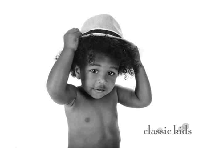 Classic Kids Photography: Family Photo Shoot + 8x10 Archival Photograph