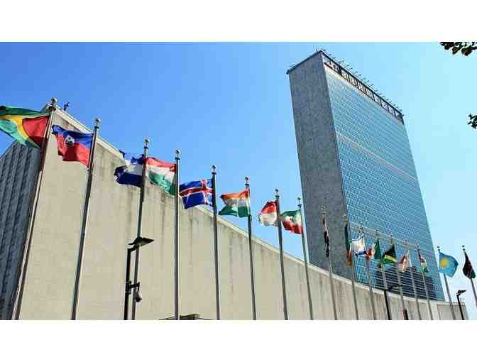 United Nations HQ: Tour and Lunch for Two