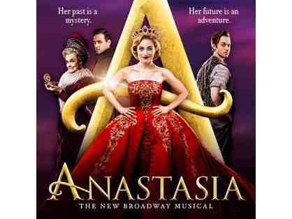 Anastasia The Musical (3 Tickets) + Dinner at Joe Allen