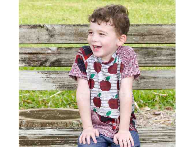 Handmade Children's T-Shirt by Brooklyn Bird Designs