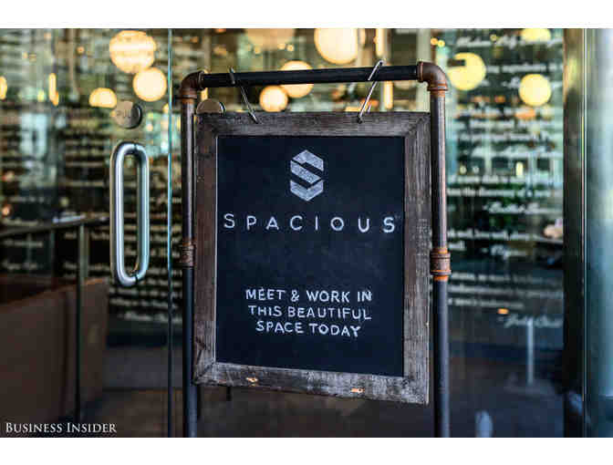 Spacious: One Year Membership to Co-Working Network