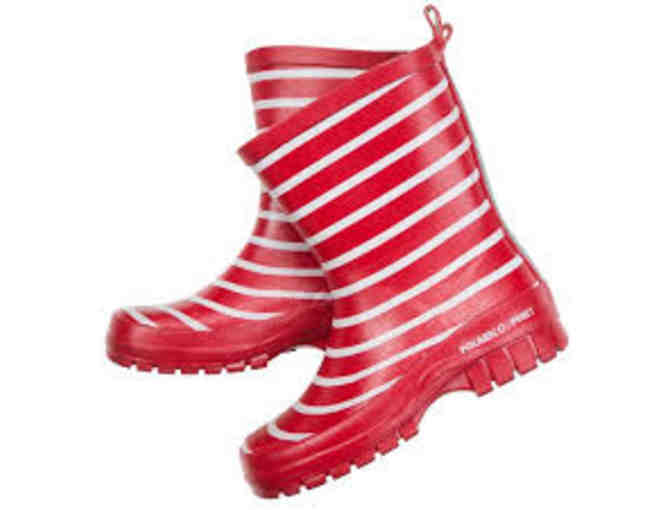 Polarn O. Pyret: One Pair of Red Children's Rain Boots