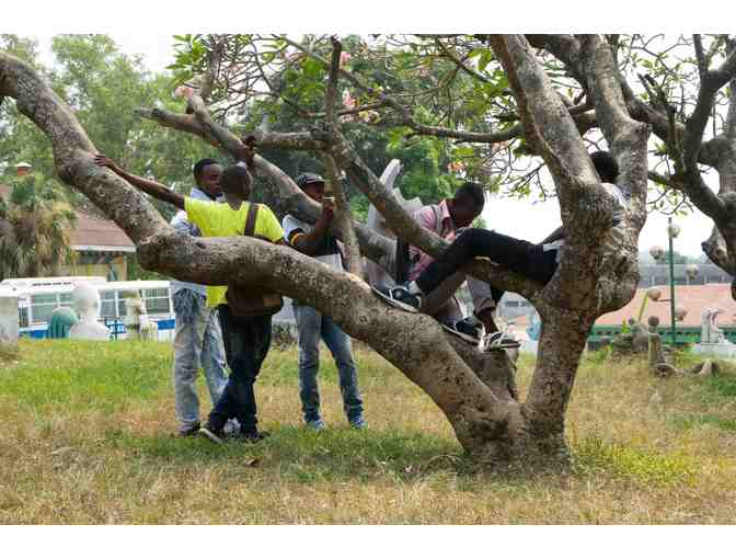 Photo Print: 'L'arbre a Palabre' Academie des Beaux Arts, Kinshasa, July 2014, Democratic