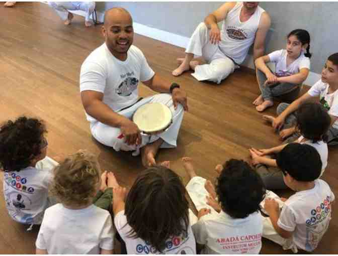 Parent/Kid Capoeira Classes: 6 Weeks