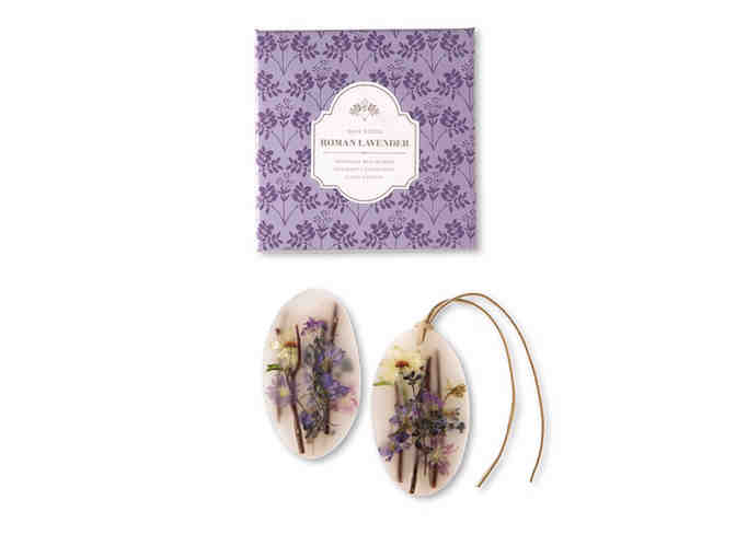 Rosy Rings: A set from the Roman Lavender Collection