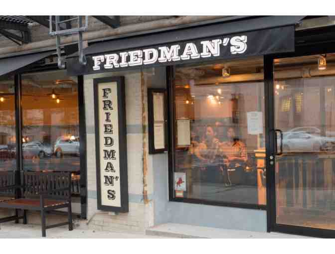 $50 to Dine at Friedman's